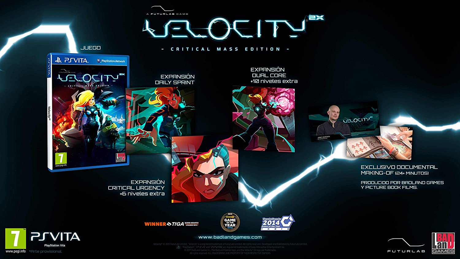 Velocity 2X: Critical Mass Edition: playstation vita: Amazon ...