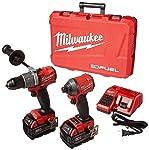 Milwaukee Electric Tools 2997-22 Kit de taladro de martillo/atornillador de impacto
