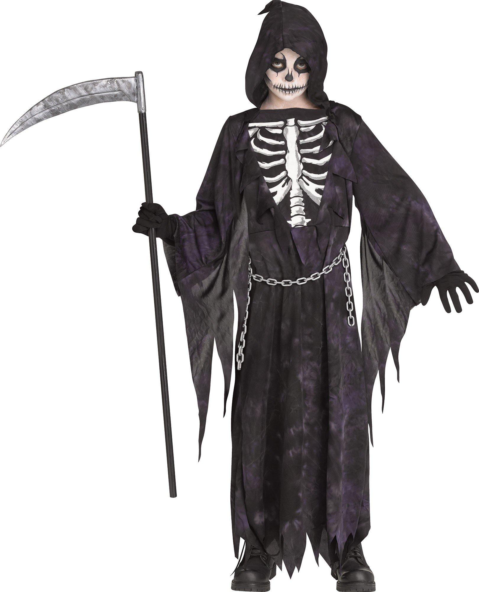 Fun World Midnight Reaper Chld Cstm, Large by Fun World