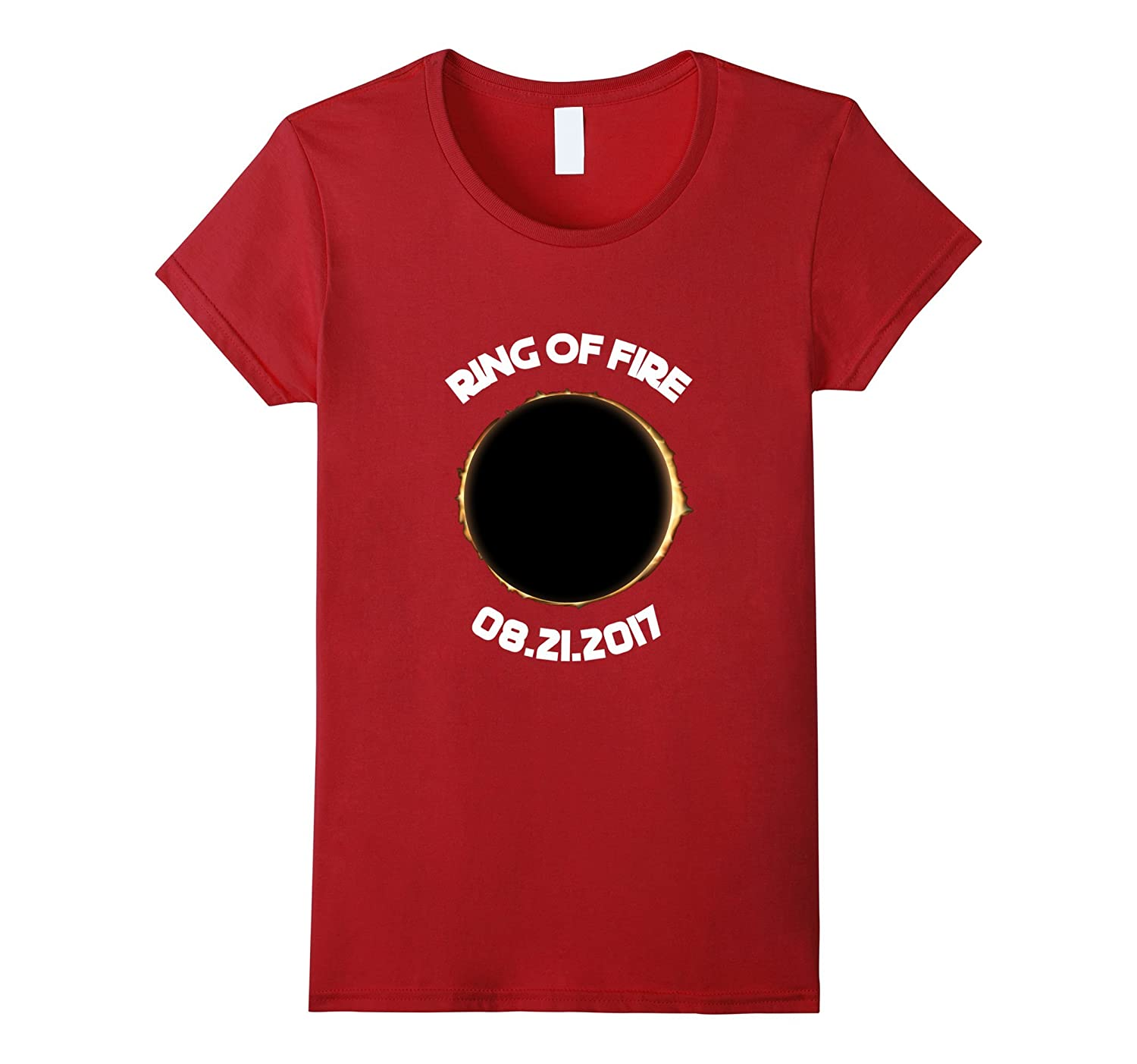 USA Solar Eclipse 2017 Ring of Fire T-shirt