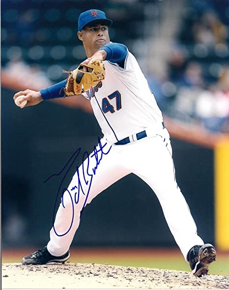 Miguel Batista New York Mets Signed Autographed Official Onl Baseball Cas Sports Mem, Cards & Fan Shop Autographs-original