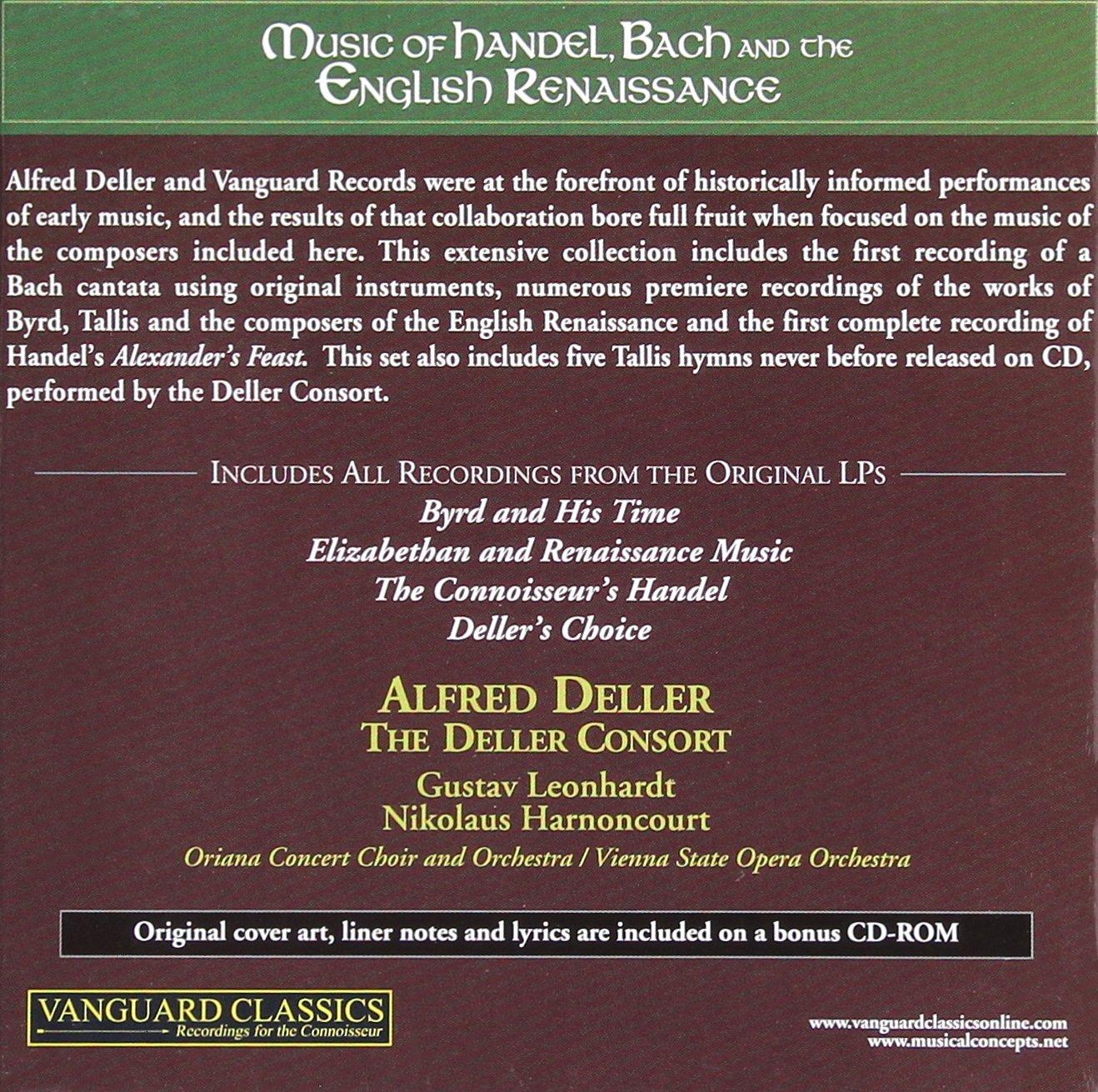 Music of Handel Bach & the English Renaissance 4