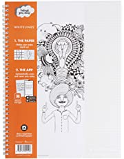 Whitelines WL101 Link 80 gsm A4 Squared Notebook Paper