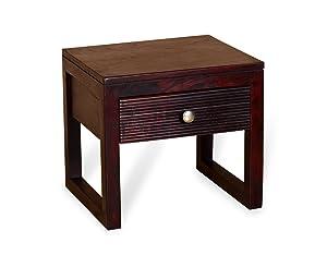 Madera WC-BD-4609-MAH Bedside Table (Mahogany)