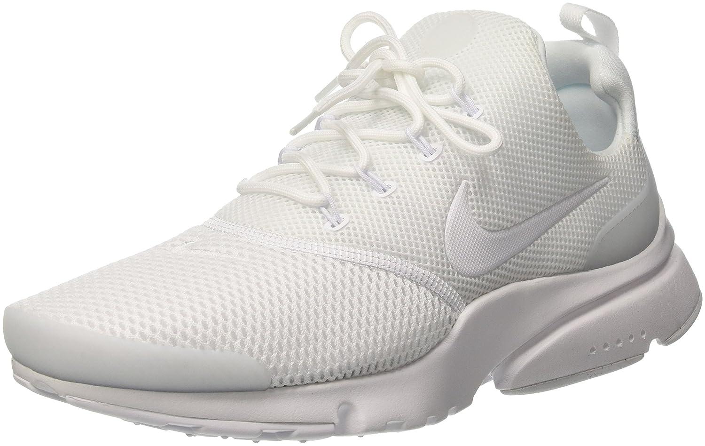 NIKE Mens Presto Fly Running Shoes B06Y66QZQ3 9 D(M) US|White