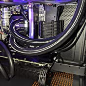 Amazon Com Braided Atx Sleeved Cable Extension Kit For