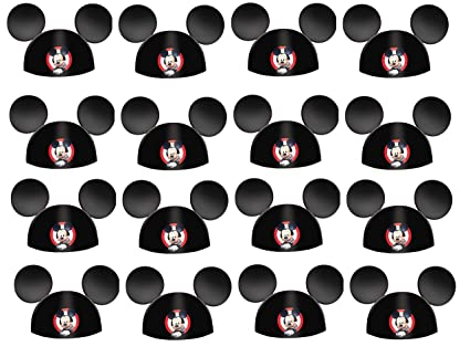a49763bb2d088 Image Unavailable. Image not available for. Color  Mickey Mouse and the  Roaster Racers Happy Birthday paper Party Hat ...