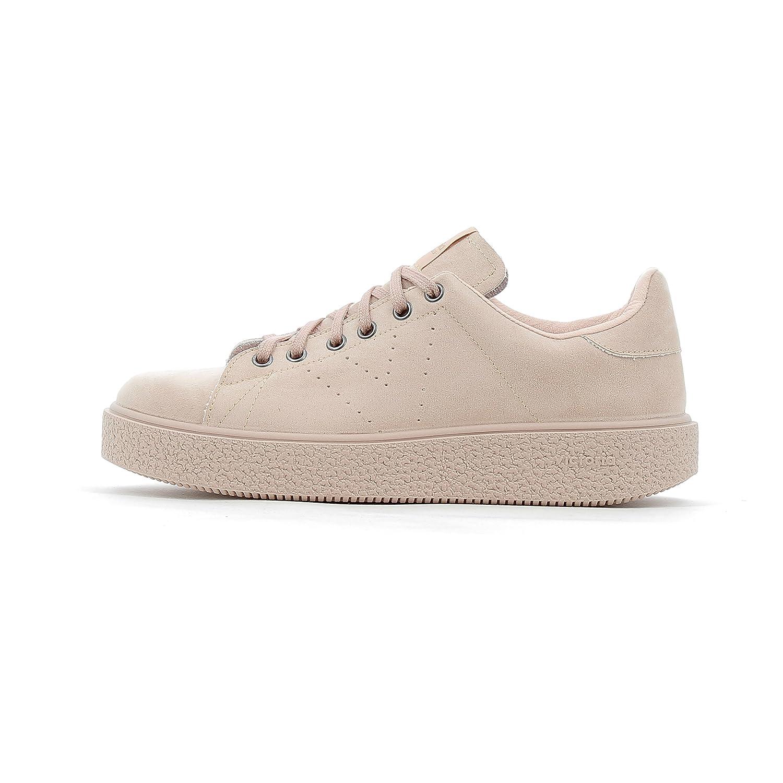Victoria Zapato Ante con Cordones Y Plataforma 4 33 EU