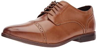 Rockport Men's Style Purpose Cap Toe Tan 6.5 W (EE)-6.5 W