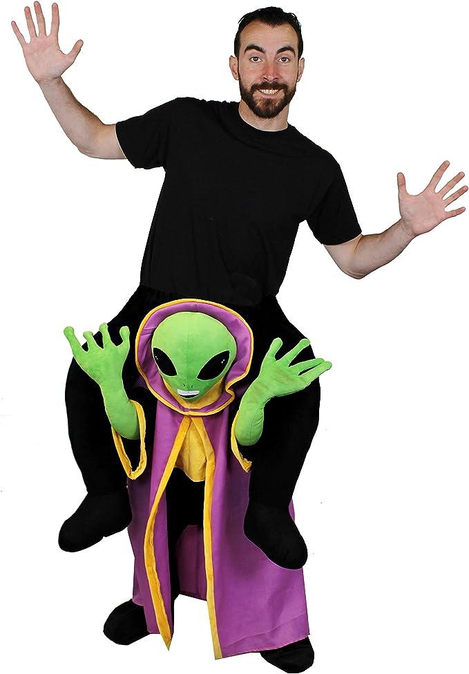 I LOVE FANCY DRESS LTD Pick Me Up Alien Disfraz con Peluche OVNI ...