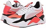 PUMA Men's RS-X Sneaker, White-red Blast, 12 M US