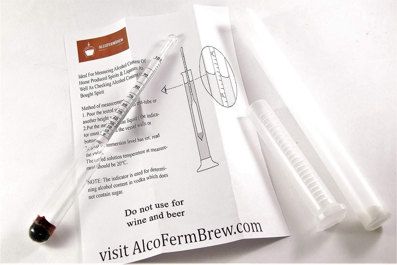 Alcoholímetro / Medidor de grado alcohólico / Nivel de ...
