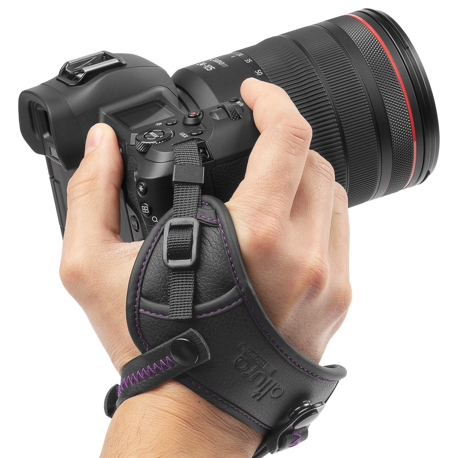 Camera Hand Strap - Rapid Fire Secure Grip Padded Wrist Strap Stabilizer by Altura Photo for DSLR and Mirrorless Cameras by Altura Photo