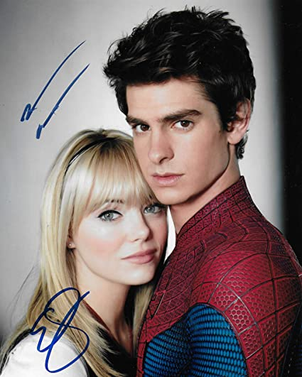 Andrew Garfield Emma Stone Spiderman 8x10last One At Amazon S Entertainment Collectibles Store
