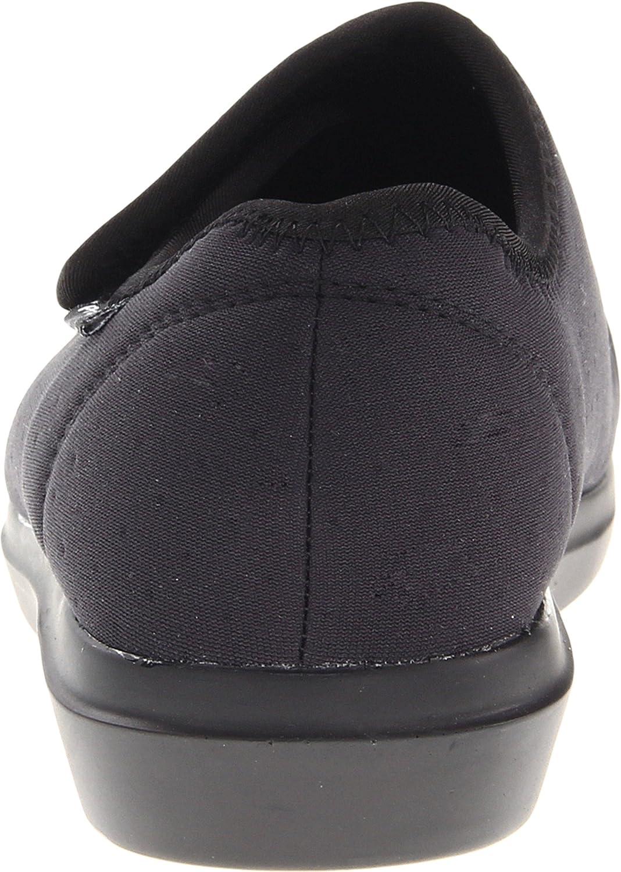 Propét Women's Cush N Foot Slipper B007M08F12 6 X (2E) US|Black