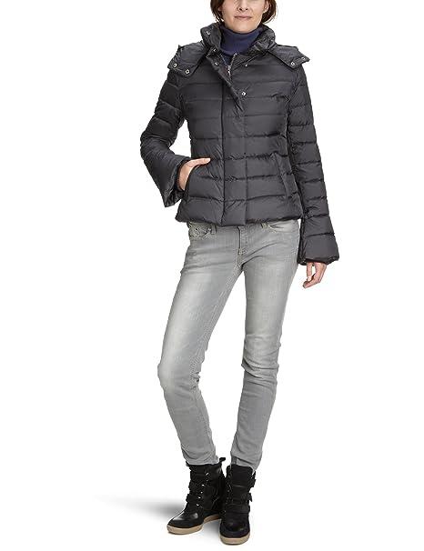 Canadian Classics - Abrigo de manga larga para mujer, color grey - grau (pio), talla 38: Amazon.es: Ropa y accesorios