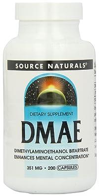 海外直送品Source Naturals Dmae Capsules 200 Caps