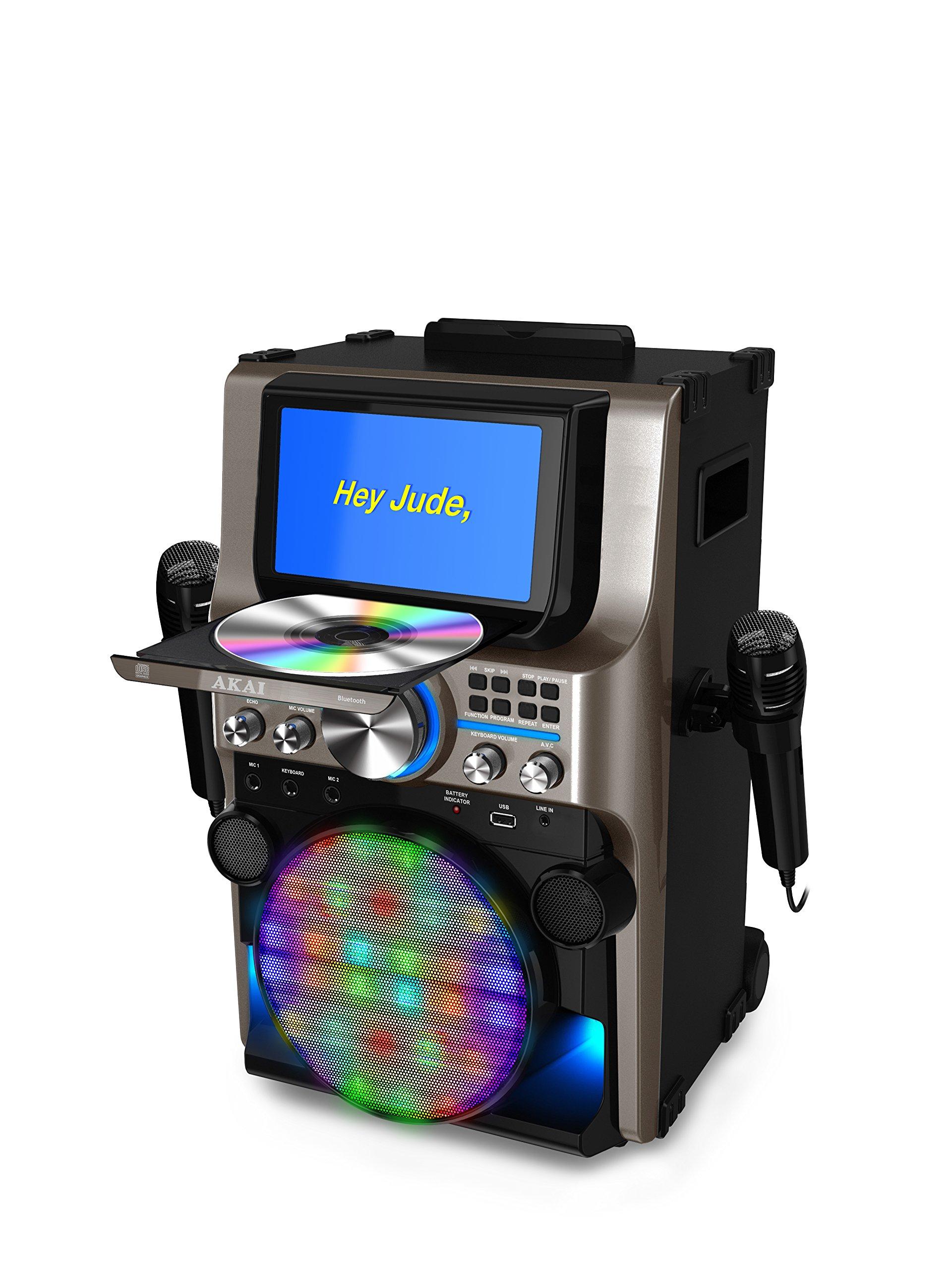 Akai KS838-BT The Ultimate Bluetooth Party Machine, 7'' by Akai (Image #5)