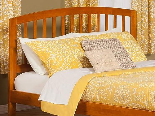 Atlantic Furniture Richmond Headboard, Queen, Caramel