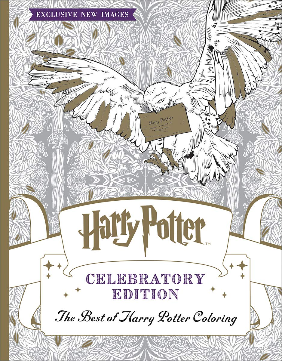 The Best of Harry Potter Coloring: Celebratory Edition (Harry Potter)