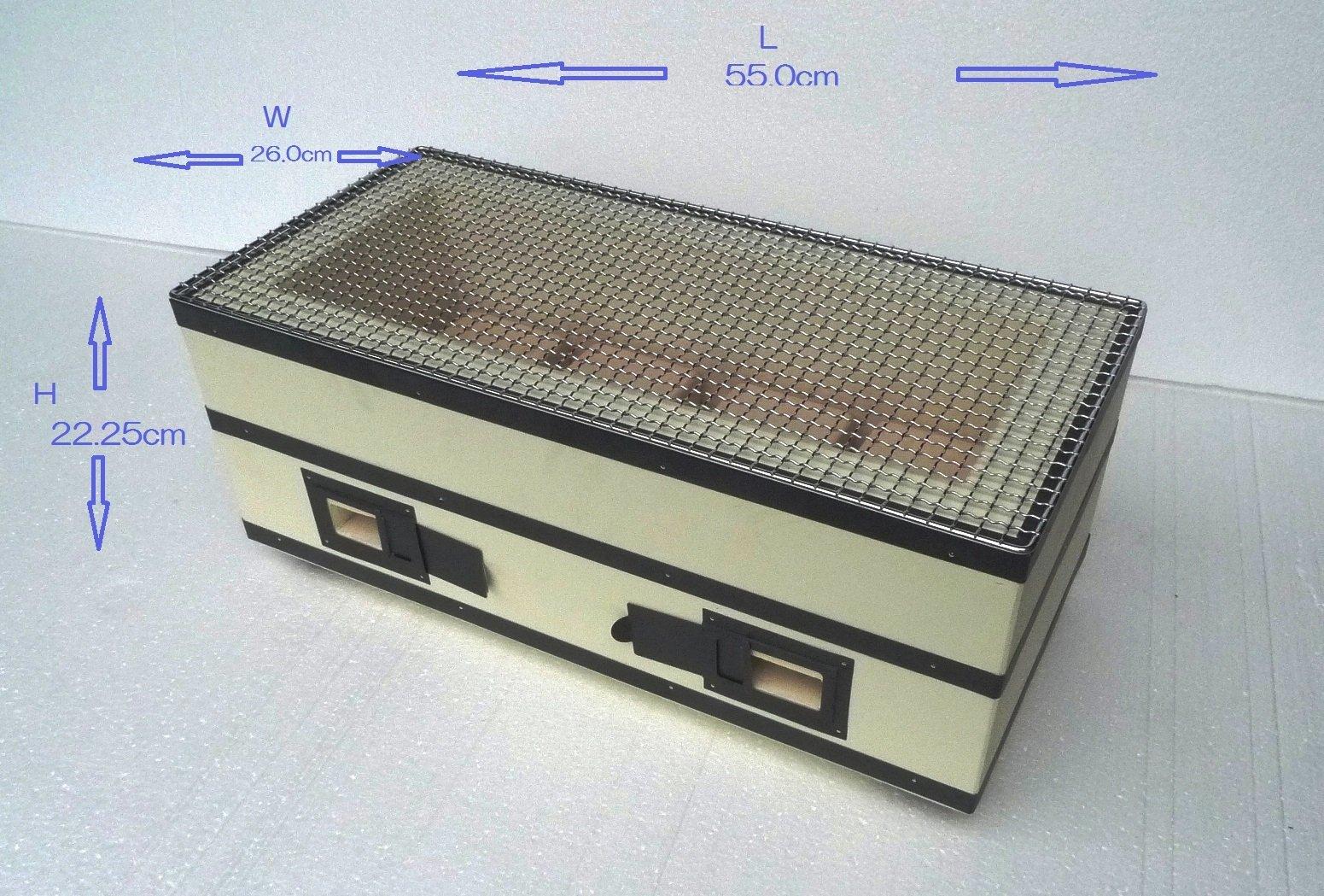 binchotan Japanese excellent charcoal konro grill/Hand made/Noto Ishikawa made by binchotan (Image #2)