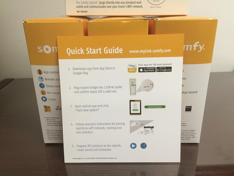 Mobilier De Jardin Dwg > Somfy Interface Smartphone Mylink Rts Technologie Wifi Radio