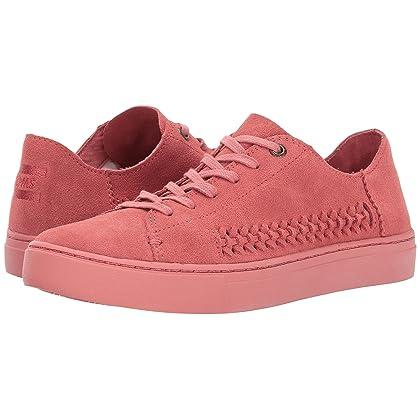 Women's Lenox Sneaker Faded Rose Monochrome Deconstructed Suede/Woven Panel 12 B US