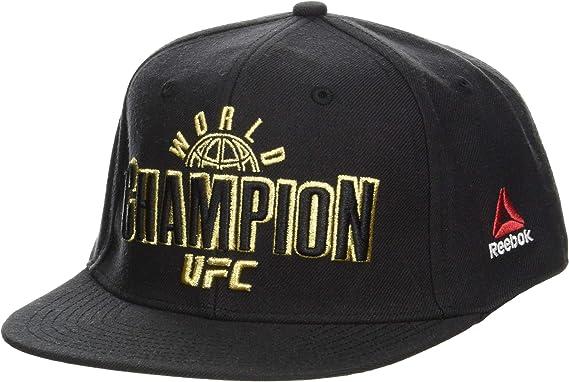 Reebok UFC Champ Cap At - Gorra, Hombre, Negro, Talla Única ...