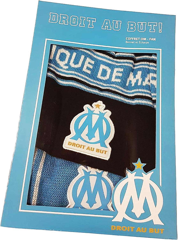 offizielle Kollektion von Olympique de Marseille OM-Set Schal und M/ütze