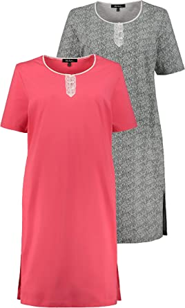 Ulla Popken Big-Shirt 2er Pack