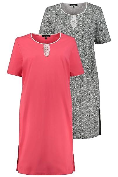 finest selection 2c0bc 16610 Ulla Popken Damen Nachthemd