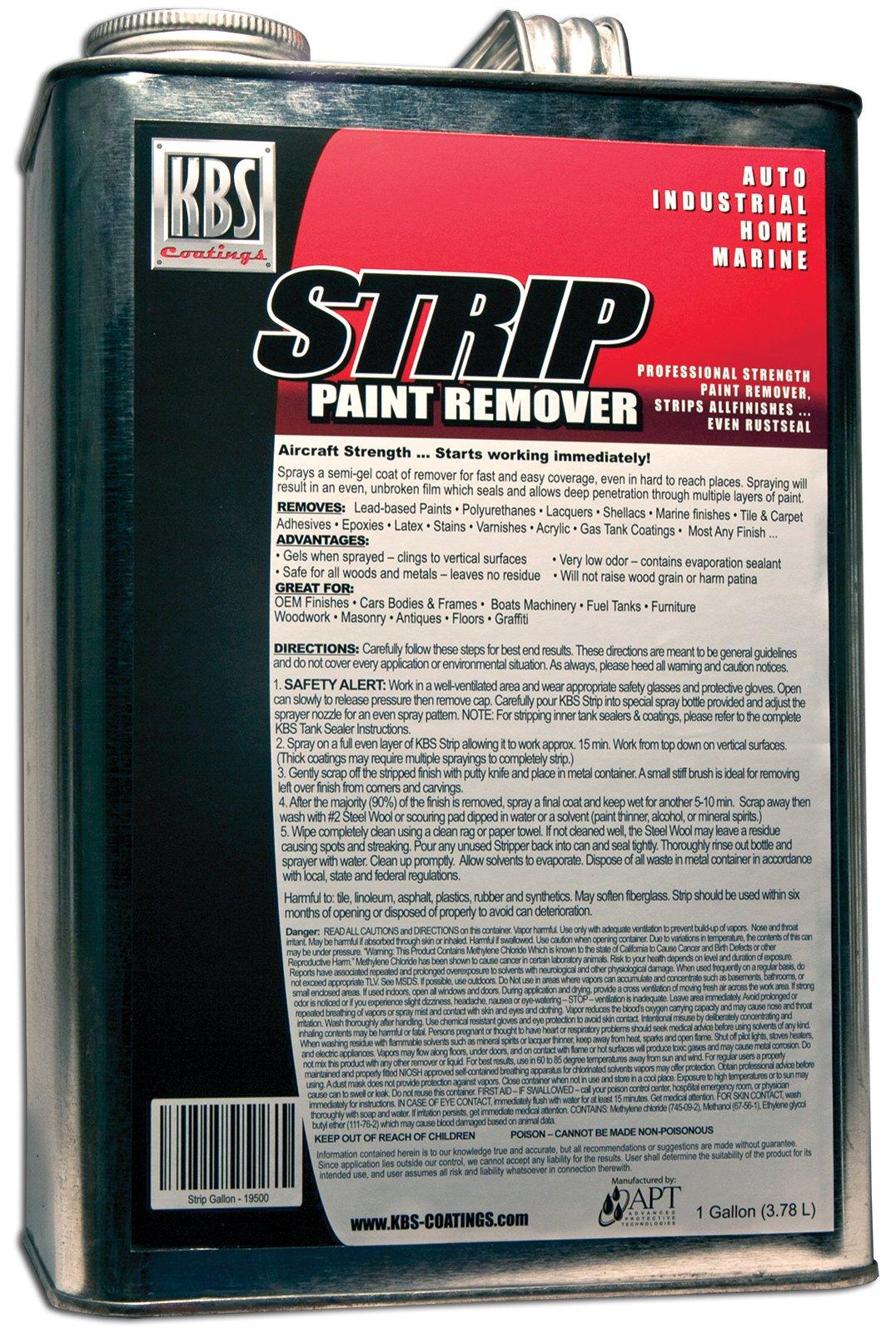 KBS Coatings 19500 Paint Remover/Stripper - 1 Gallon
