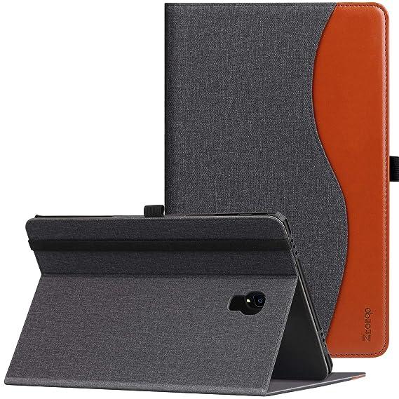 Ztotop Hülle für Samsung Galaxy Tab A 10,5 2018,für Modell SM-T590/SM-T595,Premium Leder Geschäftshülle mit Ständer,Kartenste