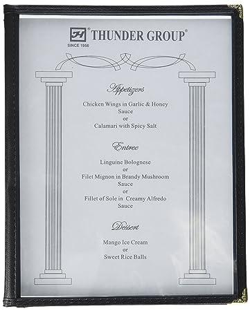 amazon co jp excellante 3 page book fold menu cover 22cm x 28cm