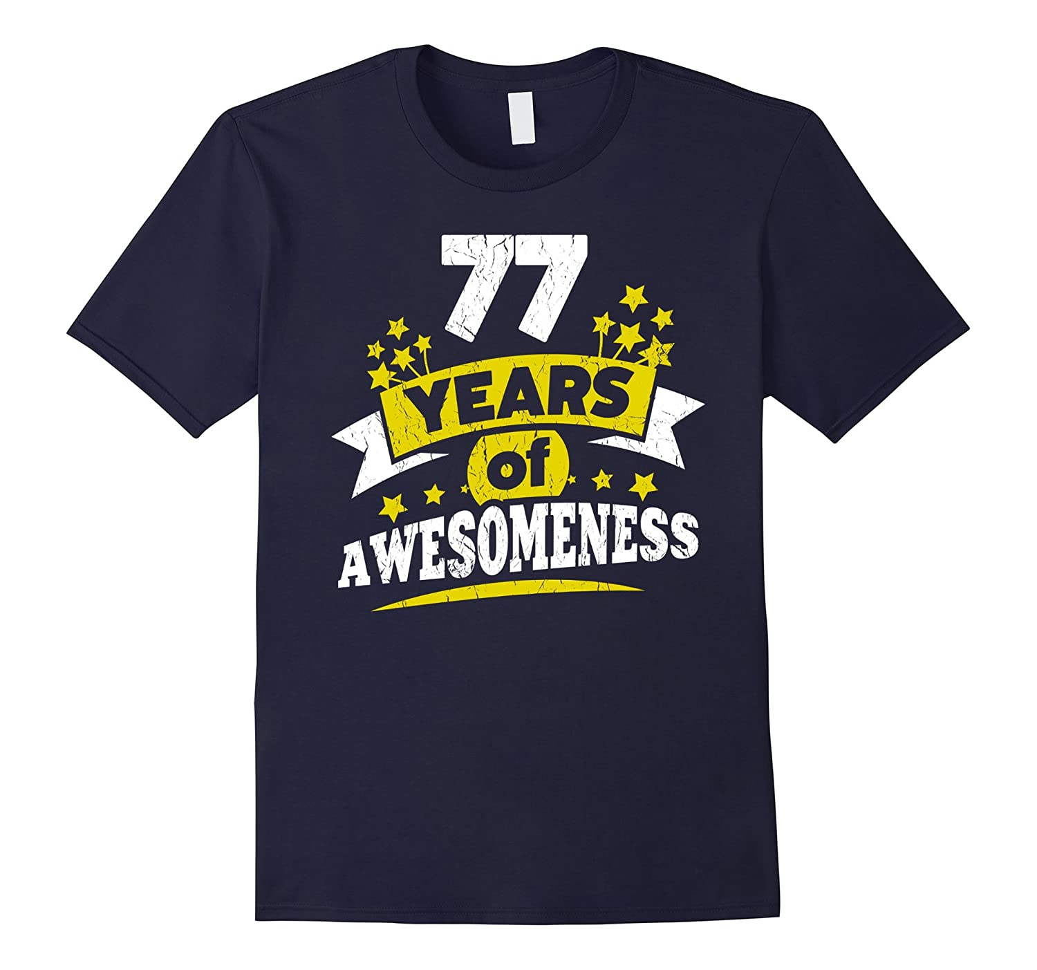 Birthday Gift For 77 Year Old Woman 77th Tee Shirt PL