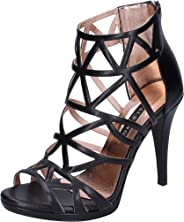 ALBANO Sandals Womens Black
