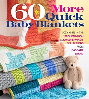 b571ea789978 Amazon.com  60 Quick Baby Knits  Blankets