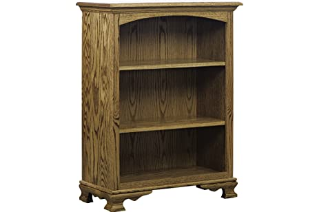 Amazon Com Amish Heirlooms Solid Maple Shorty Heritage Bookcase
