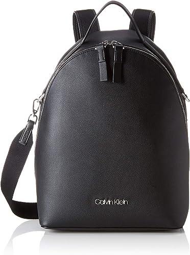 Calvin Klein - Strap Backpack, Mochilas Mujer, Negro (Black ...