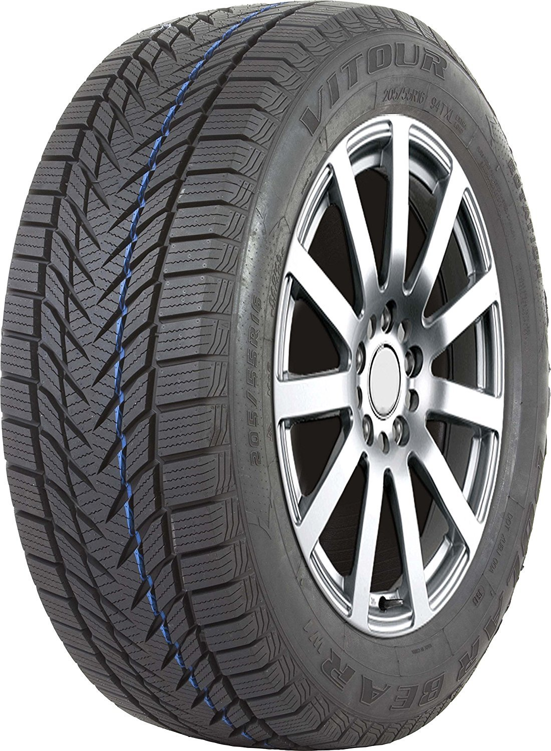 Vitour POLAR BEAR W1 Studless-Winter Radial Tire - 215/70R15 98T by Vitour (Image #1)