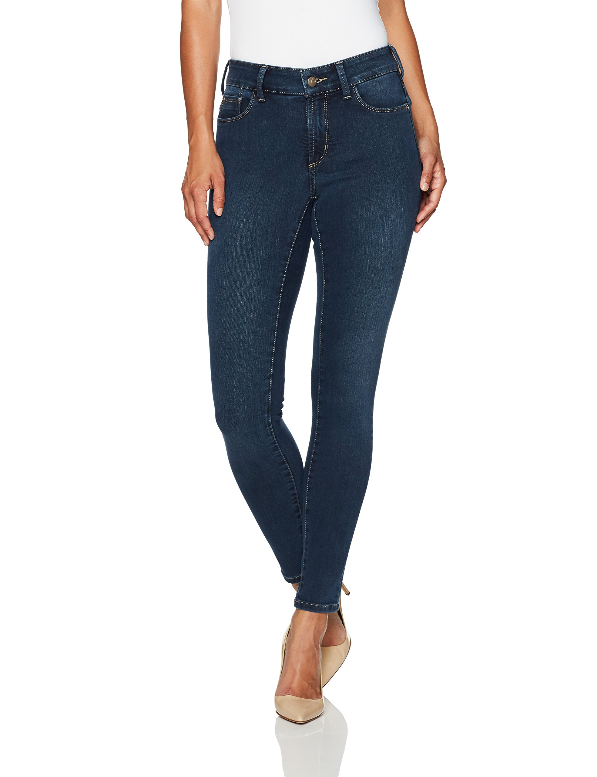 NYDJ Women's Petite Size Uplift Alina Skinny Jeans in Future Fit Denim, Rome, 6P
