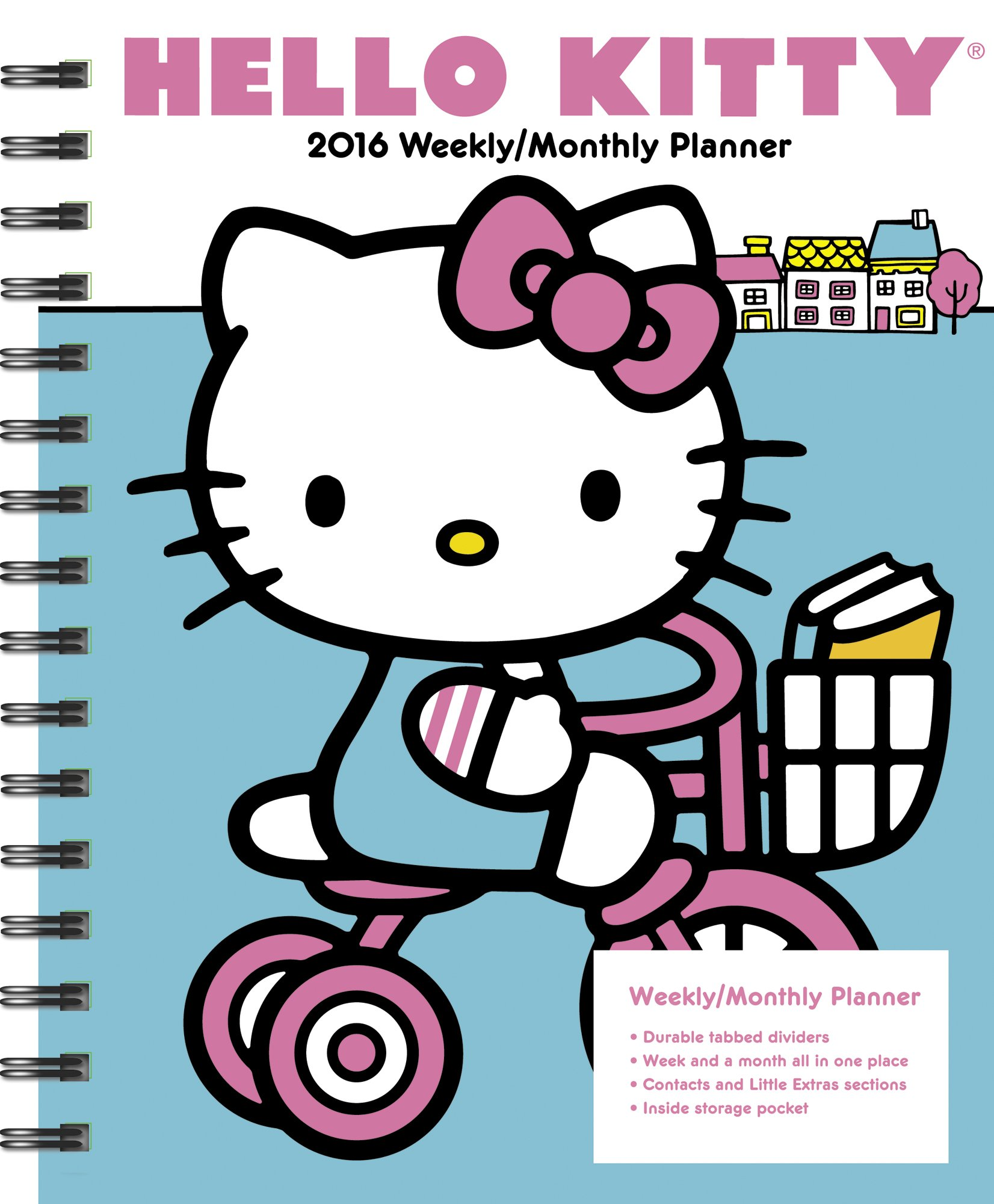Hello Kitty Weekly And Monthly Planner 2016 Amazon