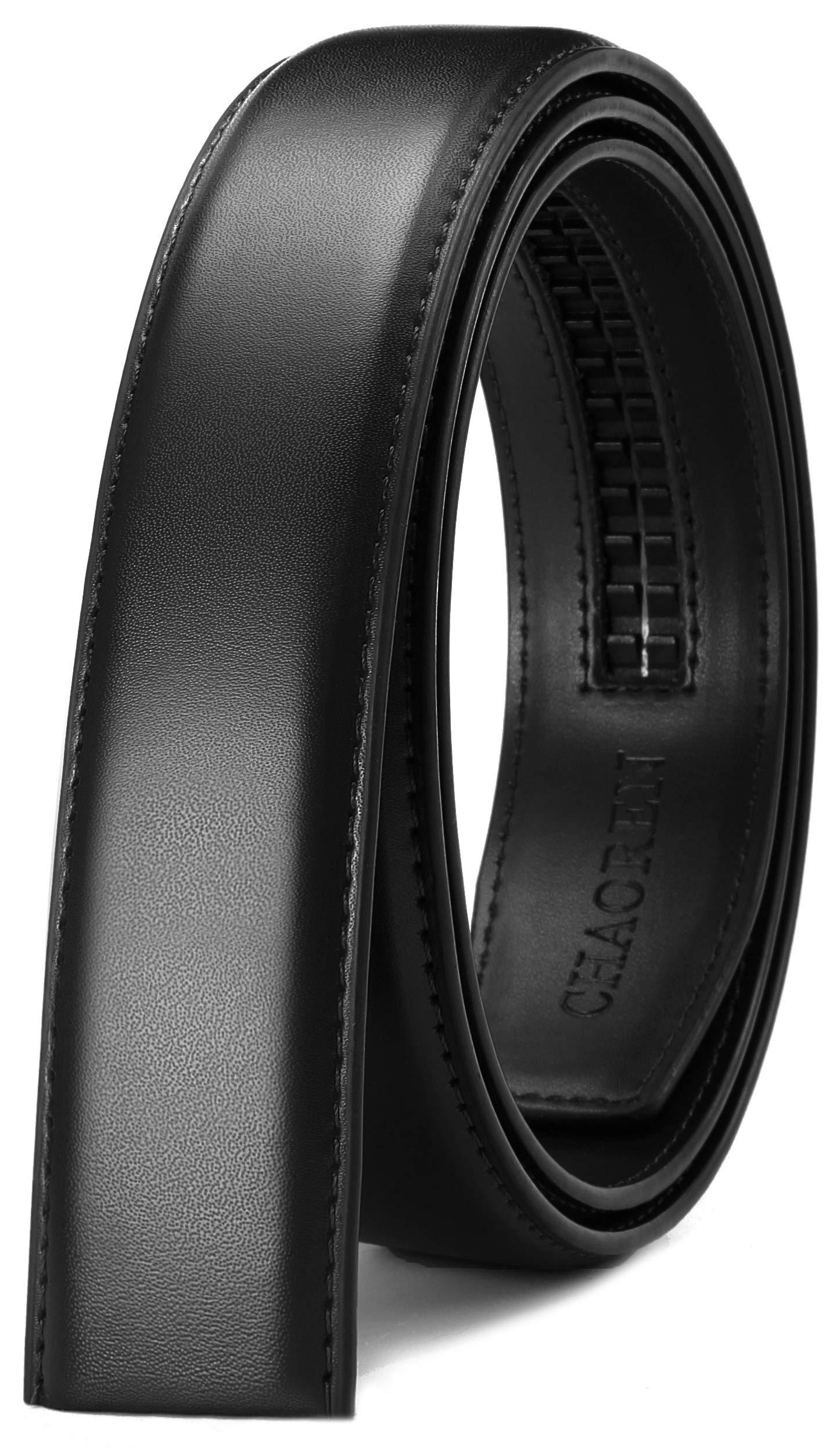 40mm Click Belt Buckle Only for 1 3//8 Ratchet Belt Strap CHAOREN Automatic Slide Buckle Adjustable