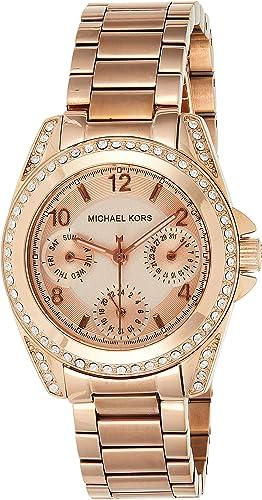 Michael Kors Women's Blair Rose Gold Tone Watch MK5613
