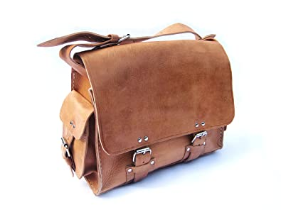 Skylark Satchel - handmade leather satchel bag: Amazon.co.uk ...