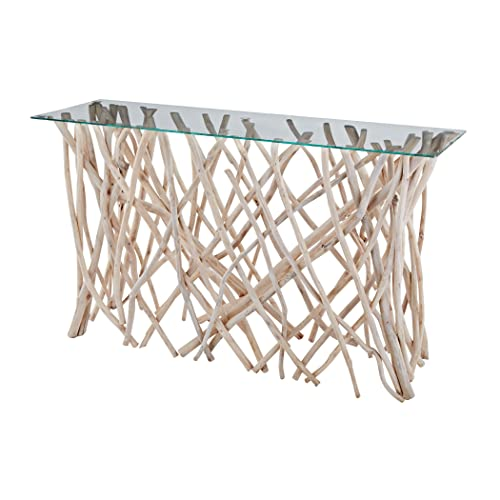 Dimond HOme table, 47 x 14 x 30 , Beige