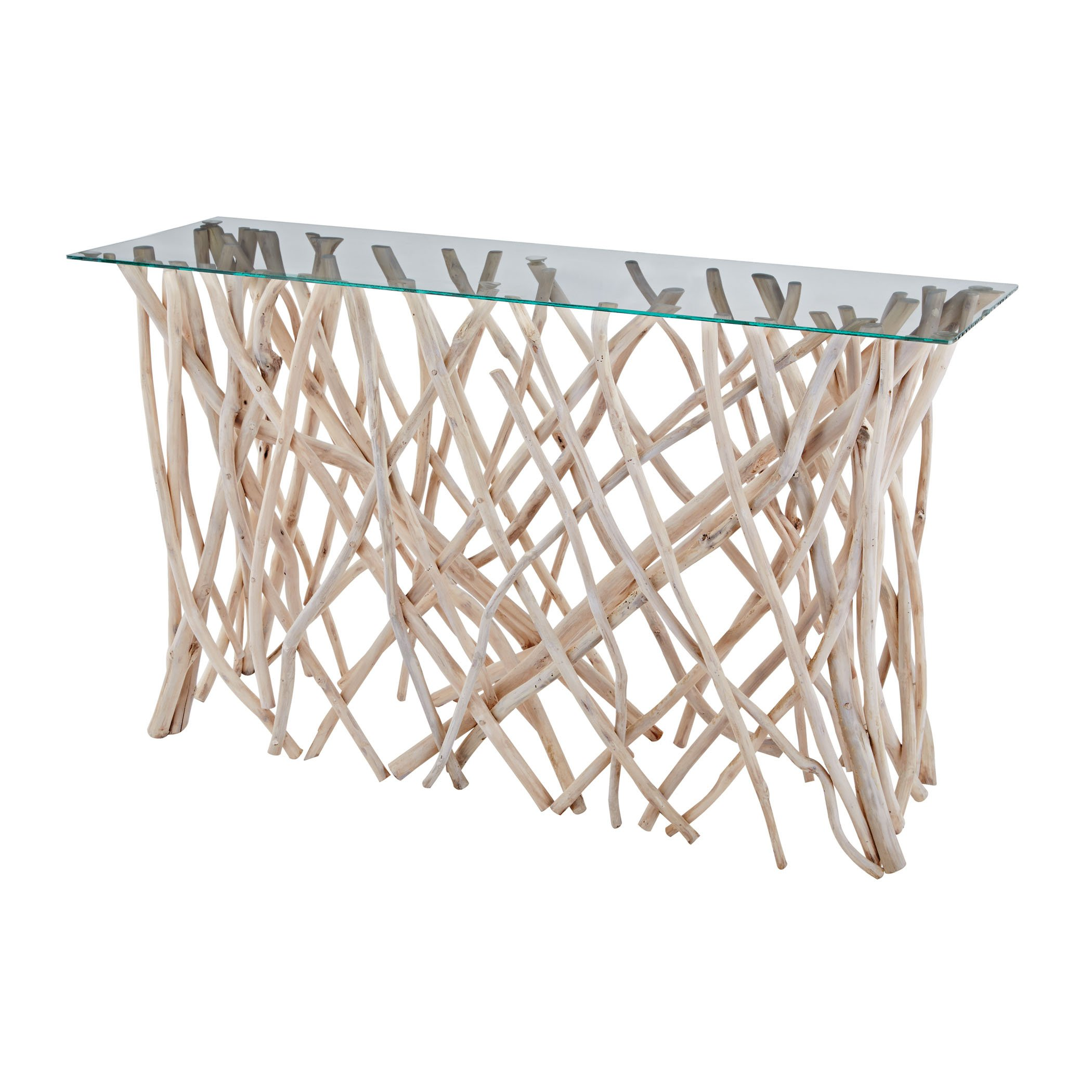 Dimond Home 162-027 Teak Root Console Table, 47'' x 14'' x 30''