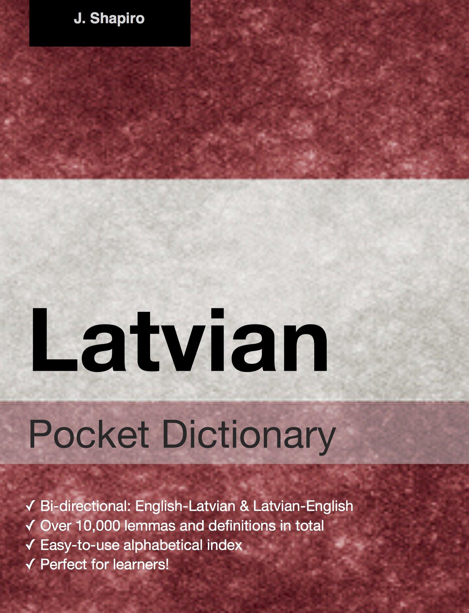 Latvian Pocket Dictionary  English Edition