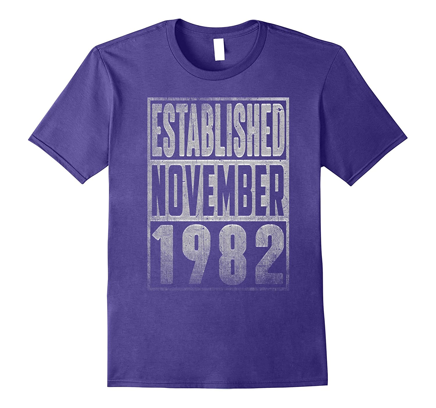 Established Since NOVEMBER 1982 Straight Outta 35 Years Old-T-Shirt