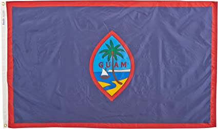 Amazon Com Annin Guam Flag 3 By 5 Foot Garden Outdoor